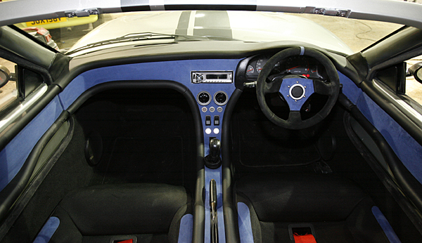 The Murtaya's interior (in Alcantara trim).